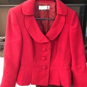 Red Tahiti red skirt suit